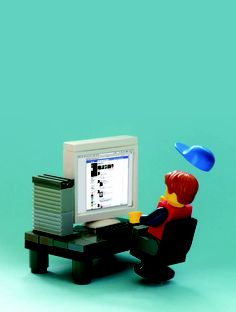Legoman on facebook