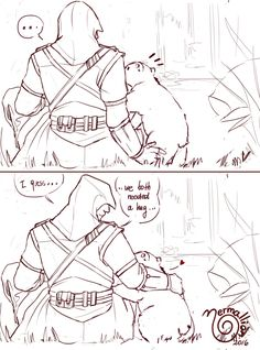 trying to escape the routine. — do you need a hug? Assassin's Creed List, Assassian Creed, All Assassin's Creed, Assassins Creed Comic, Armas Ninja, Templer, Comics Story, Routine, Fandoms