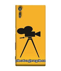 PrintVisa Camera Photo Grapher 3D Hard Polycarbonate Designer Back Case Cover for Sony Xperia XZ :: Sony Xperia XZ Dual F8332
