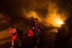 Vecinos de La Viliella y Larón, en Cangas de Narcea (Asturias), desalojados por prevención ante evolución incendio Galicia         Una ...