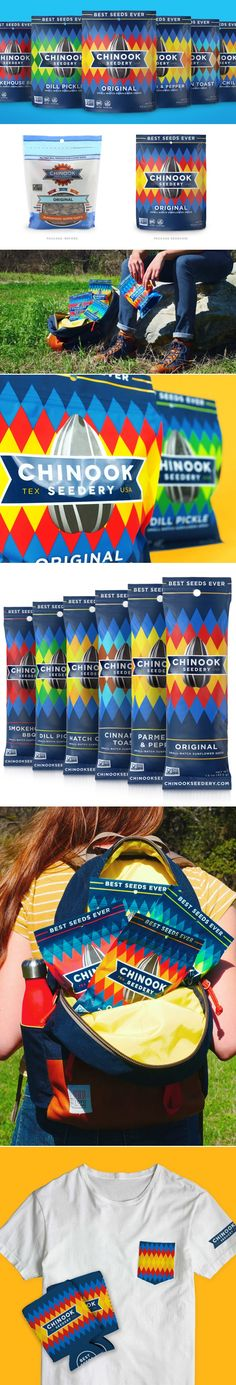 Chinook is Not Your Average Sunflower Seed Brand — The Dieline | Packaging & Branding Design & Innovation News