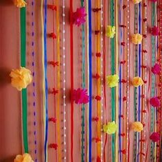 Could this be my picture wall? Party Kulissen, 30th Party, Party Rock, Grad Parties, Party Time, Birthday Parties, Diy Wedding Decorations, Birthday Decorations, Mexico Party