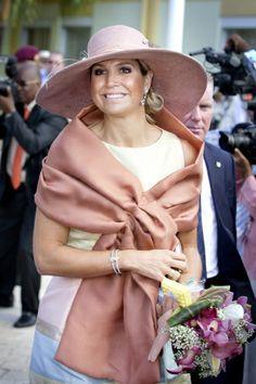 Queen Máxima, Nov. 13, 2013 in Fabienne Delvigne | The Royal Hats Blog