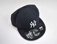 61fabea192fe New York Yankees New Era Fitted Hat Ball Cap Black MLB Major League Baseball  | eBay