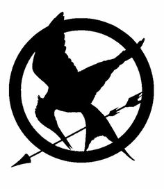 sooo i want a mockingjay/hunger games t-shirt with this logo