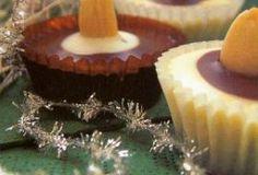 košíčky s karamelovým krémem Christmas Baking, Christmas Cookies, Sweets, Desserts, Food, Xmas Cookies, Tailgate Desserts, Deserts, Christmas Crack