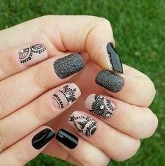 fancy credit card Get OFF first purchase with Ultamate Rewards Credit Card. Funky Nail Art, Funky Nails, Pretty Nail Art, Red Nails, Cute Nails, Hair And Nails, Henna Nail Art, Henna Nails, Pedicure Nail Art