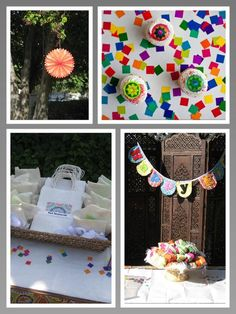 DIY Eid Card - Crafty Eid party for kids! (felt banners, cards, and books and a goodie bag to take home the goodies:)