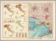 Polish Army Topography Service. Italy. Pergamon World Atlas. 1967. World Atlas.