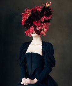 Botanical Headdresses by Takaya-13