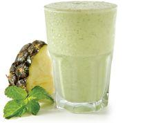 Smoothie sabor limão e abacaxi: alternativa saudável que substitui o milkshake | #ReceitaDeSmoothie, #SmoothiePaquetá, #Sorbet, #Wraps