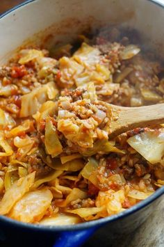 Unstuffed Cabbage Rolls - make this one