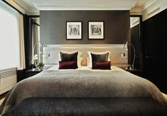 Contemporary Bedroom by Compass and Rose
