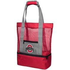 ec601ea714 Ohio State Buckeyes Mesh Cooler Beach Tote Bag