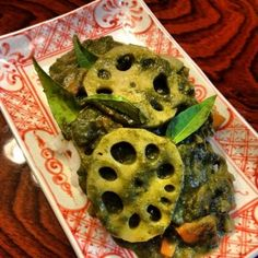 Okinawan Spinach Curry with Lotus Root l Okinawa Hai!