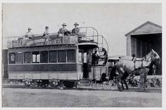 The last horse drawn trams in Port Elizabeth were in 1897.