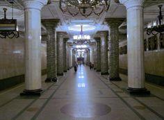 Metro in Saint Petersbourg