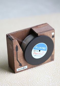 Put Your Records On Tape Dispenser / Shop Ruche