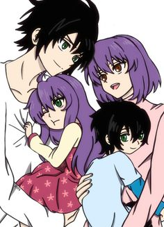 Familys Shinoa and Yuu