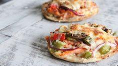 Mini-pizzas à la truite et au fromage Boursin® Naan, Salmon Burgers, Vegetable Pizza, Kitchen Remodel, Bbq, Tacos, Mini Pizzas, Ethnic Recipes, Food