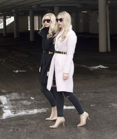 How to Belt Your Outerwear | Fashion Column Twins
