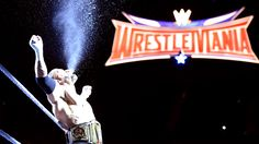 The Game makes his entrance before his match with Ziggler