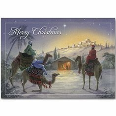 They Come With Gifts Holiday Cards | Religious Christmas Cards | Deluxe.com
