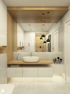 ciekawa koncecja połaczenia płytek z elementami drewnianymi + dodatkowoe oświetlenie podłogi?