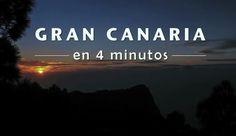 GRAN CANARIA EN 4 MINUTOS. Hecho con más de 2.150 fotografías, te llevará a 55 rincones inigualables de la isla de Gran Canaria. Director:  Javier de Miguel
