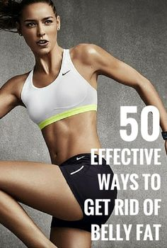 EFFECTIVE WAYS TO GET RID OF BELLY FAT