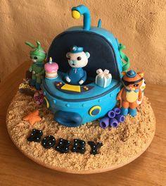 The Octonauts cake