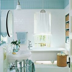 Don't Be Afraid to Change Directions - Comfortable Guest Baths - Southern Living
