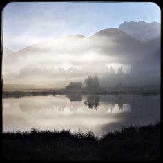 Foggy fall morning. #soultravels #outdoorgirl #adventuregirl #mindful #munichandthemountains