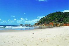The beach at Byron Bay, Australia