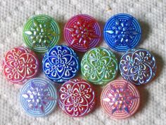 Buttons (Czech). I think I have 1 or 2 of these in my collection - lucky me. <3