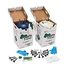 Polyurethane Closed Cell Spray Foam Insulation Kit Spray Foam Insulation Kits, Types Of Insulation, Best Insulation, Insulation Materials, Wall Insulation, Cellulose Insulation, Polyurethane Foam Insulation, Fiberglass Insulation, Insulating A Shed