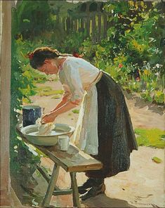 Laundry (Nikolai Pimonenko)
