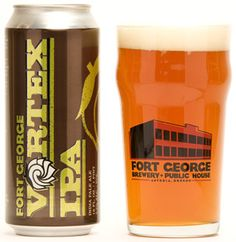 The excellent Vortex IPA  http://www.fortgeorgebrewery.com/beers/regulars/vortex-ipa/