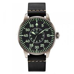 3e1d162db36 Laco Uhrenmanufaktur Pilot watch with type B dial