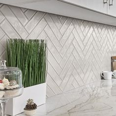 Kitchen Wall Tiles, Ceramic Wall Tiles, Porcelain Tile, Backsplash Tile, Ikea Kitchen Remodel, Wall Exterior, Brick Patterns, Tile Design, Cladding