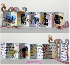 The Craft Barn: Shrink plastic week: Mini book - Good for Hairy Mclairy