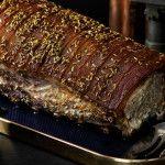 Serve with cabbage. Pork Loin, Home Recipes, Fennel, Meatloaf, Cabbage, Food, Pork Fillet, Essen, Cabbages