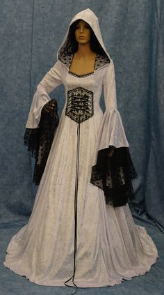 Renaissance medieval handfasting  wedding dress by camelotcostumes, $315.00