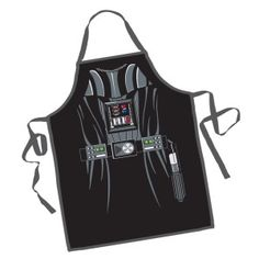 buy Star Wars Darth Vader Character Apron on sale at Urban Collector. Let your favorite Star Wars characters be your companions in the kitchen with two new Star Wars apro Star Wars Darth Vader, Princesa Leia, Black Apron, Bbq Apron, Star Wars Gifts, Christmas Vacation, Christmas Gifts, Christmas Time, Christmas Movies