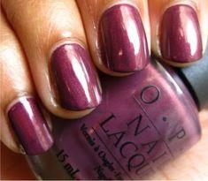 opi catherine the grape (russian collection) So Nails, Pretty Nails, Hair And Nails, Opi Nail Polish, Nail Polish Designs, Nails News, Subtle Nails, Opi Nail Colors, Nail Pops