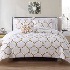 Product Image for VCNY Ogee 4-Piece Comforter Set 3 out of 3