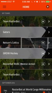 RosterBot Launches Mobile Apps To Organize Little League And Pickup Games – TechCrunch Hockey Games, Mobile App, Product Launch, Organization, Getting Organized, Organisation, Mobile Applications, Tejidos