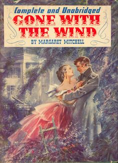 Original 1940 hardcover movie edition of Gone With the Wind.