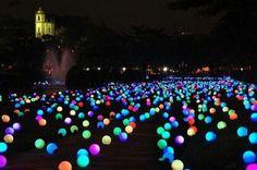 Glowsticks inside balloons. Uptown is going to get it. #Debauchery