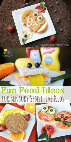 Fun Kid Food to Help Sensory Children with Textures and Nutrition - Integrated Learning Strategies Nutrition Activities, Kids Nutrition, Nutrition Tips, Sensory Activities, Nutrition Poster, Nutrition Month, Sensory Diet, Nutrition Shakes, Nutrition Plans
